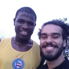 Feijão, cria das categorias de base, atleta é muito querido pela torcida tricolor.