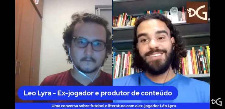 participacao dg entrevista diario de goias leo lyra literaturaefutebol