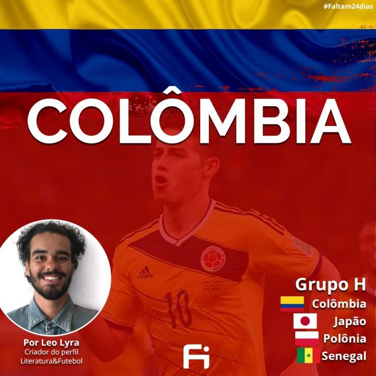 dc08706cae ... a Seleção Colombiana manteve a base da equipe que teve a melhor  campanha da história do País em mundiais