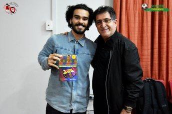 Eu e o Professor René Simões.