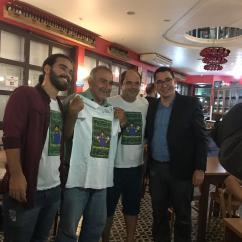 Lançamento do livro Adeus Copa