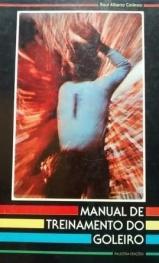 Capa do livro manual de treinamento do goleiro