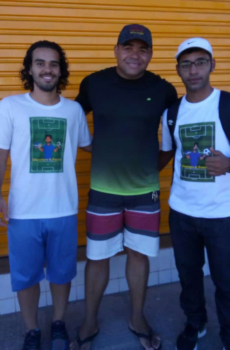 Literatura e Futebol, Ailton Instituto Freedon e Professor João