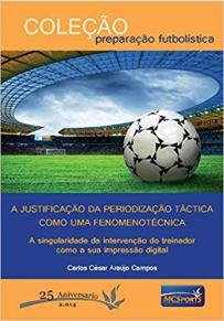 capa do livro a justificação da periodização tactica como um fenomenotecnica