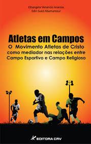capa do livro atletas em campos