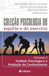 capa do livro colecao psicologia do esporte e do exercicio