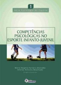 capa do livro competencias psicologicas no esporte infanto juvenil