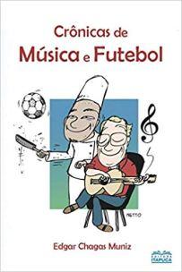 capa do livro cronicas musica e futebol