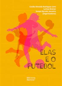 capa do livro elas e o futebol