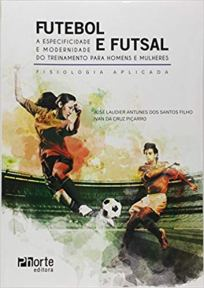 capa do livro futebol e futsal