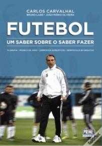 capa do livro futebol um saber sobre o saber fazer