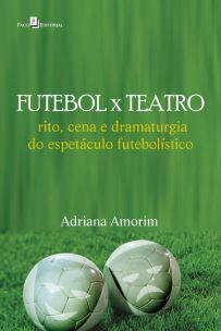 capa do livro futebol x teatro