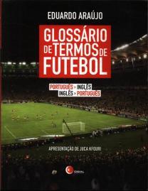 Capa do livro glossario de termos de futebol