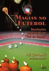 capa do livro magias no futebol