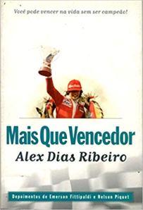 capa do livro mais que vencedor