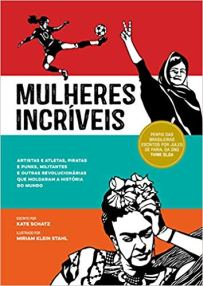 capa do livro mulheres incriveis