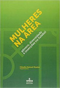 capa do livro mulheres na area