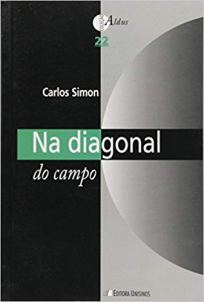 capa do livro na diagonal do campo