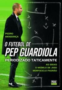 capa do livro o futebol de pep guardiola