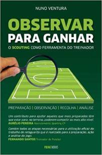 capa do livro observar para ganhar o scouting como ferramenta do treinador