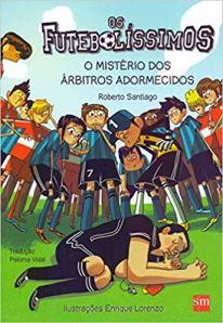 capa do livro os futebolissimos