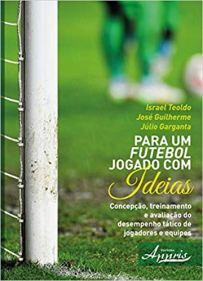 Capa do livro para um futebol jogado com ideias