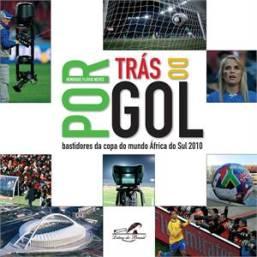 capa do livro por tras do gol