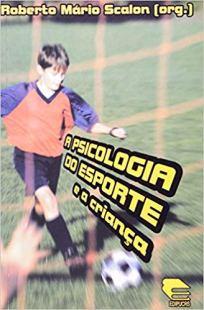 capa do livro psicologia do esporte e a criança