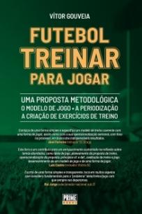 capa do livro futebol treinar para jogar