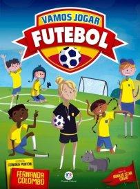 Capa do livro vamos jogar futebol