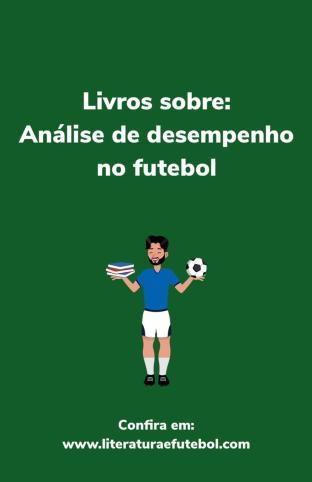 livros analise de desempenho no futebol