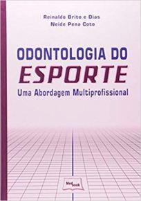Capa do livro odontologia do esporte uma abordagem multiprofissional