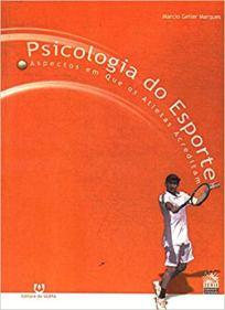 capa do livro psicologia do esporte aspectos em que os atletas acreditam