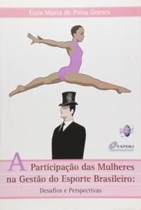 capa do livro a participacao das mulheres na gestao do esporte brasileiro