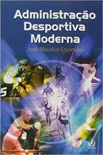 capa do livro administracao desportiva moderna