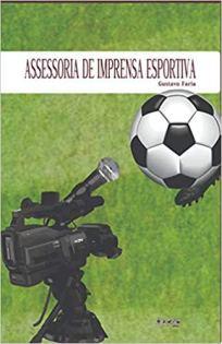 capa do livro assessoria de imprensa esportiva