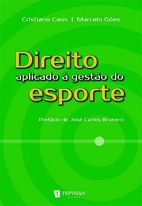 capa do livro direito aplicado a gestao do esporte
