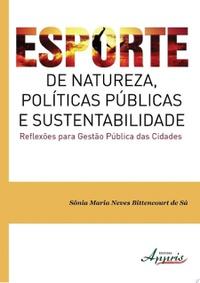 capa do livro esporte de natureza politicas publicas e sustentabilidade reflexoes para gestao publicas das cidades