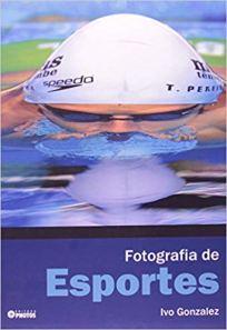 capa do livro fotografia de esportes