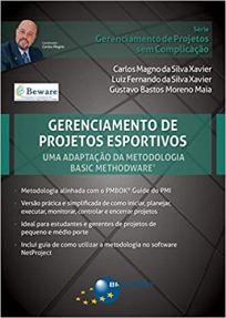 capa do livro gerenciamento de projetos esportivos uma adaptacao da metodologia basic methodware