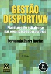 capa do livro gestao desportiva planejamento estrategico nas organizacoes desportivas