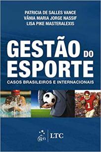 capa do livro gestao do esporte casos brasileiros e internacionais