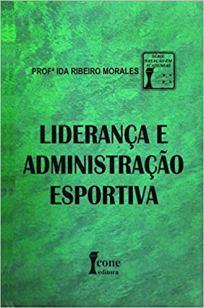capa do livro lideranca e administracao esportiva