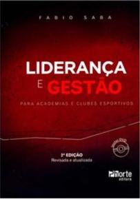 capa do livro lideranca e gestao para academias e clubes esportivos