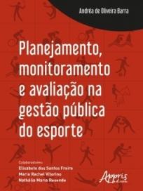 capa do livro planejamento monitoramento e avaliacao na gestao publica do esporte