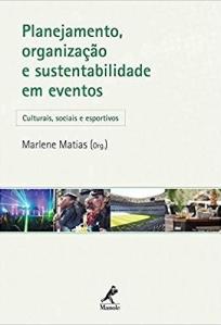 capa do livro planejamento organizacao e sustentabilidade em eventos culturais sociais e esportivos