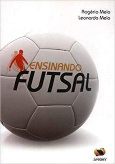 capa do livro ensinando futsal