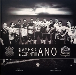 capa do livro futebol americano corinthiano steamrollers