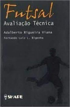 capa do livro futsal avaliacao tecnica