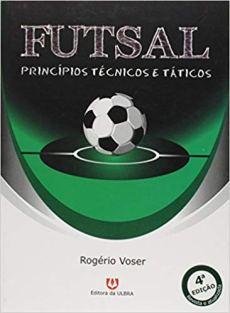 capa do livro futsal principios tecnicos e taticos